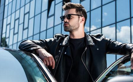 Men's Bomber Leather Jackets