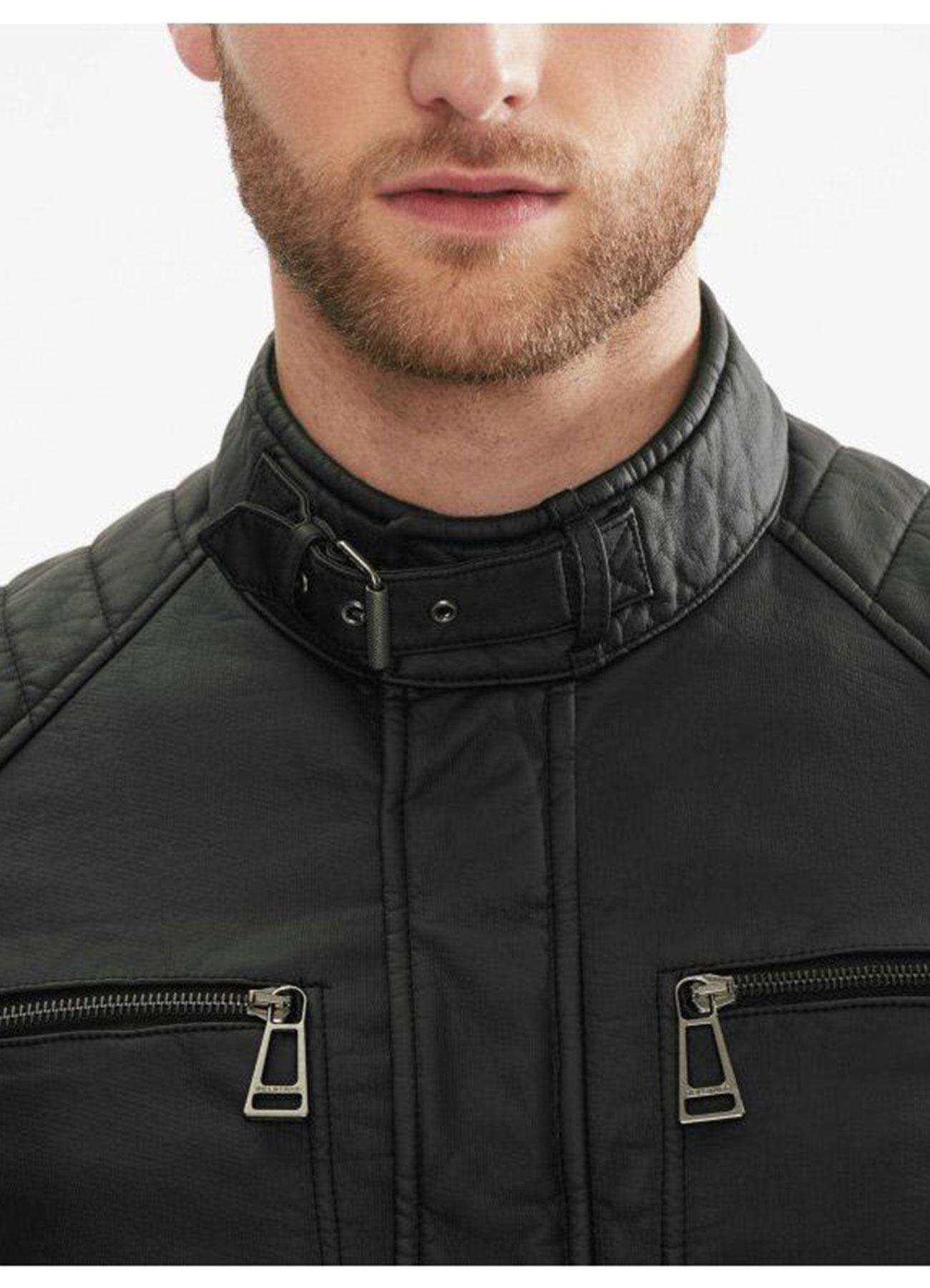 Arrow Malcolm Merlyn Black Faux Leather Jacket