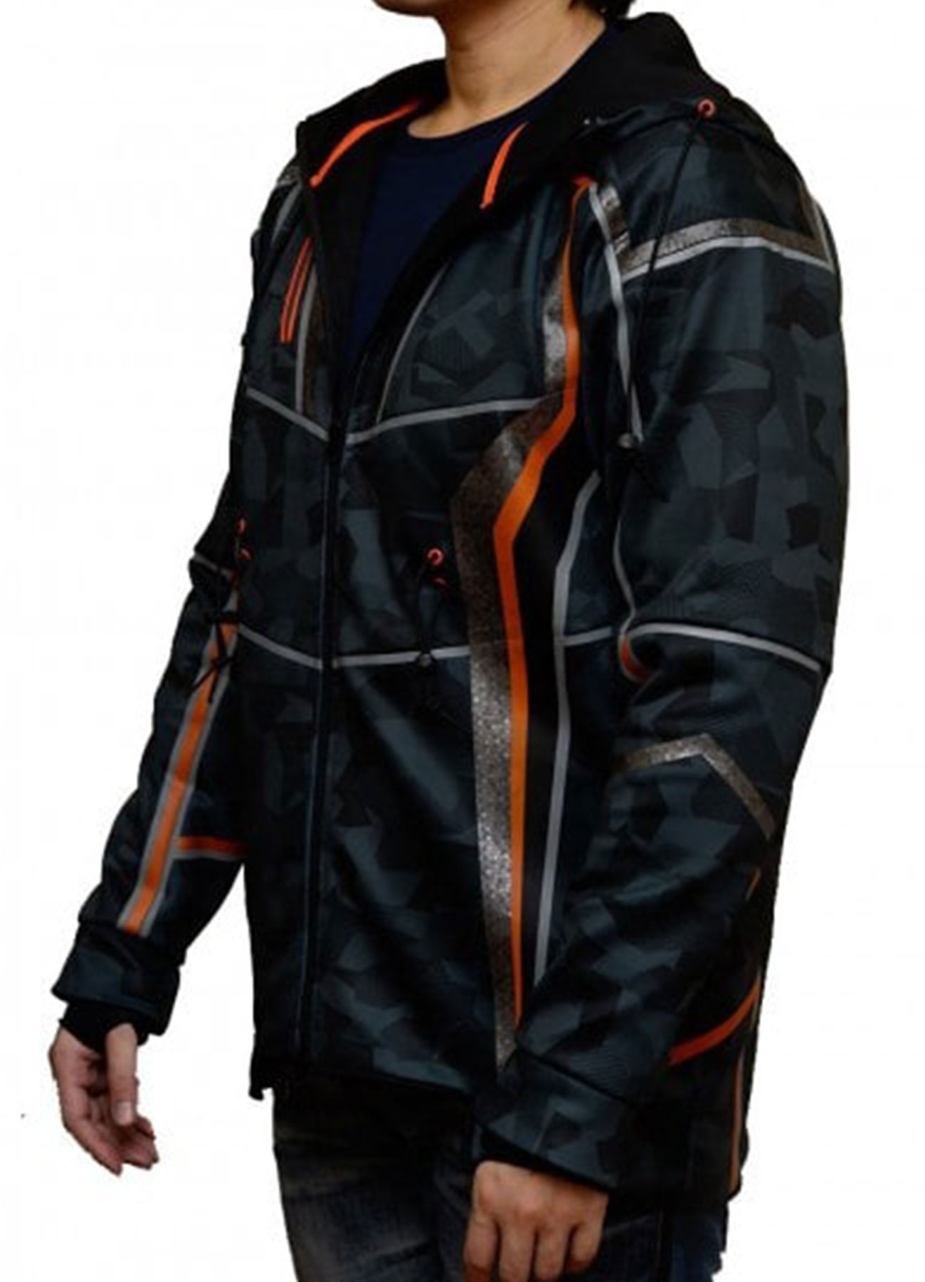 Avengers Infinity War Robert Downey Jr. Satin Fabric Jacket