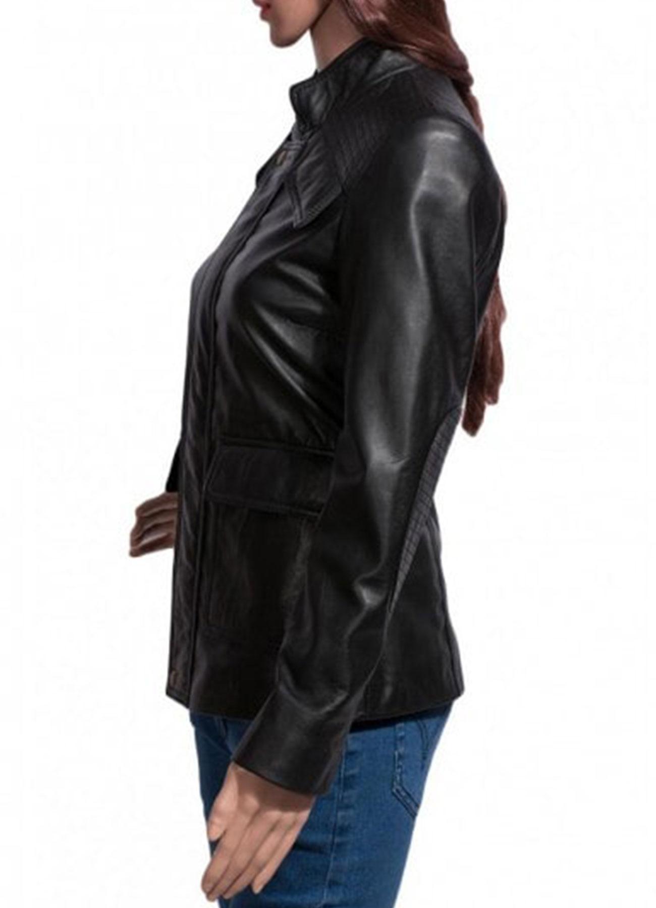 Divergent 04 Dauntless Shailene Woodley Faux Leather Jacket