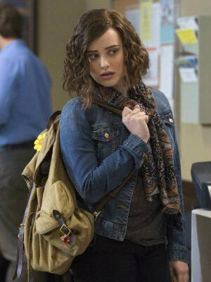 13 Reasons Why Hannah Baker Blue Denim Jacket