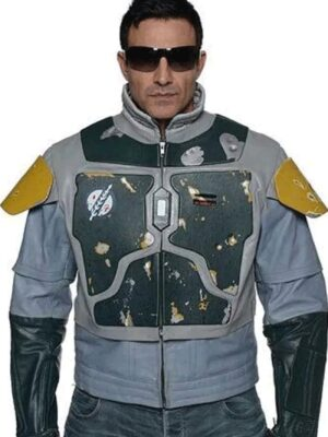 Star Wars The Mandalorian S02 Boba Fett Faux Jacket