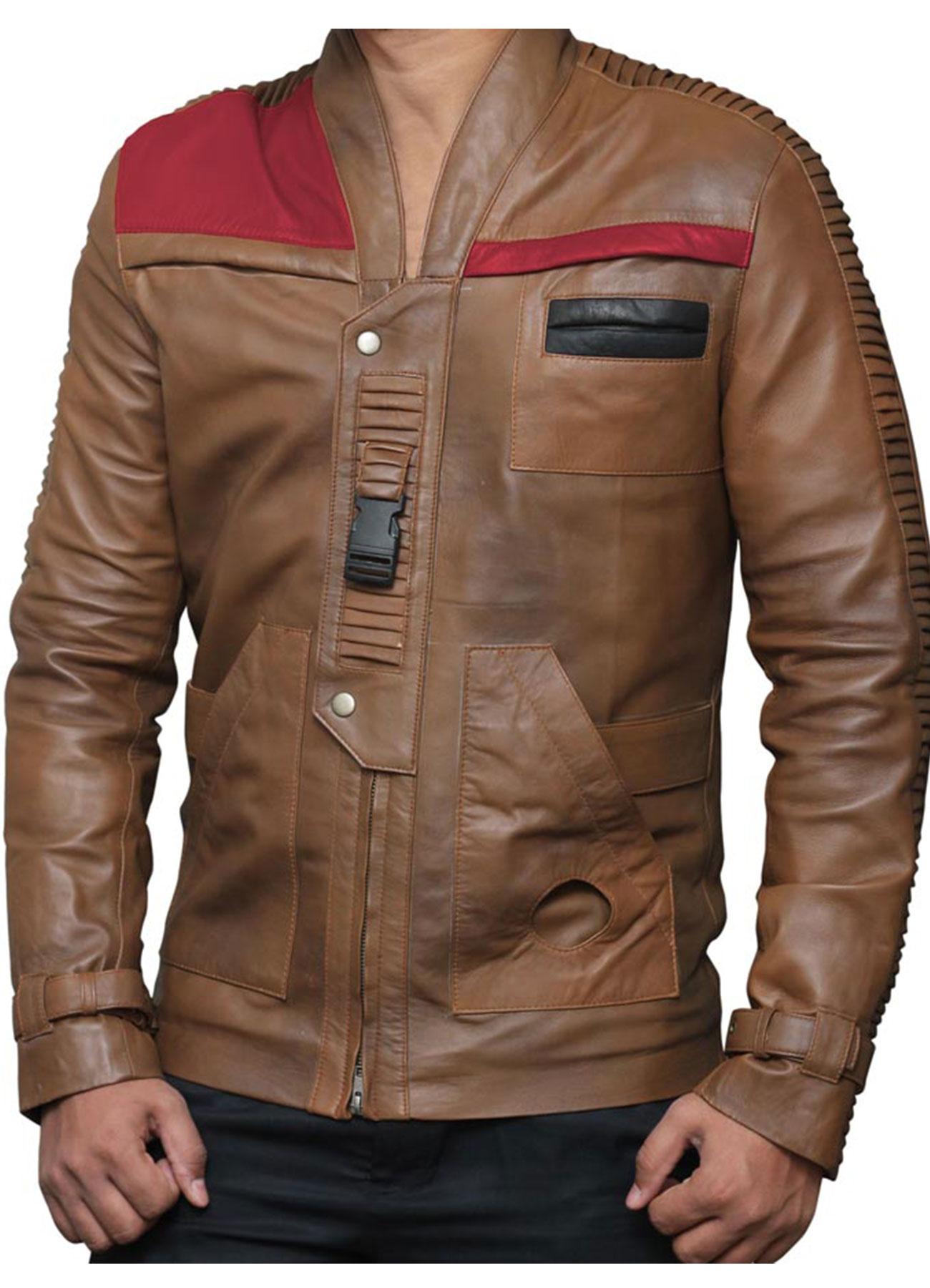 Boyega as Finn Star Wars Finn Jacket Choco Brown