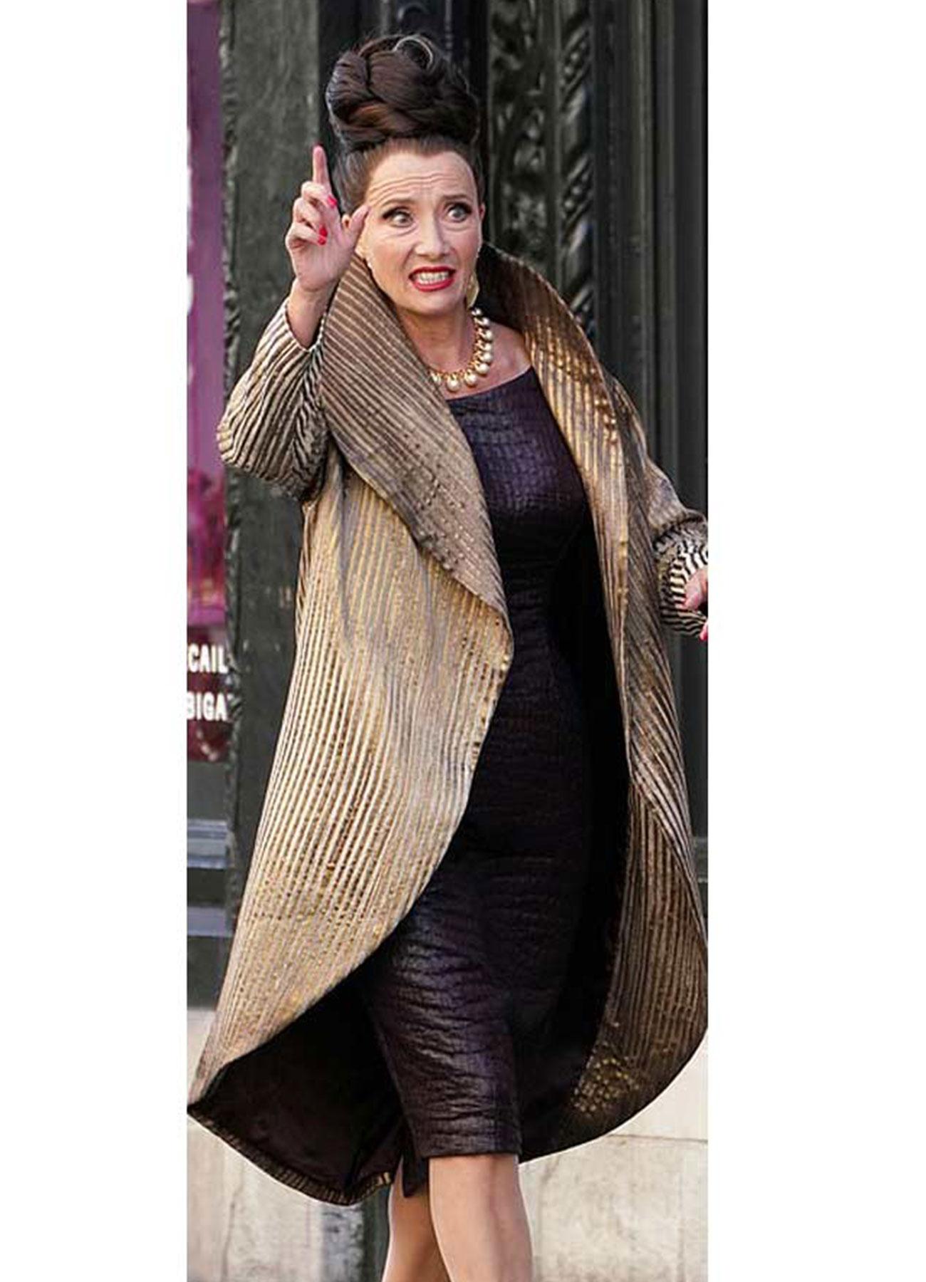 Cruella 2021 Baroness Tailcoat Wool Blend Material