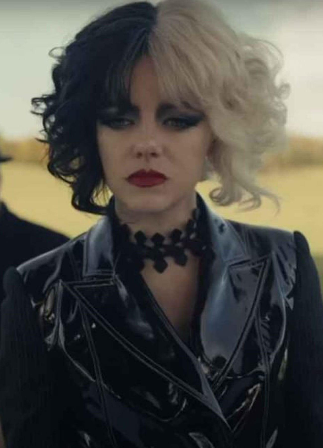 Cruella De Vil Black Faux Leather Jacket