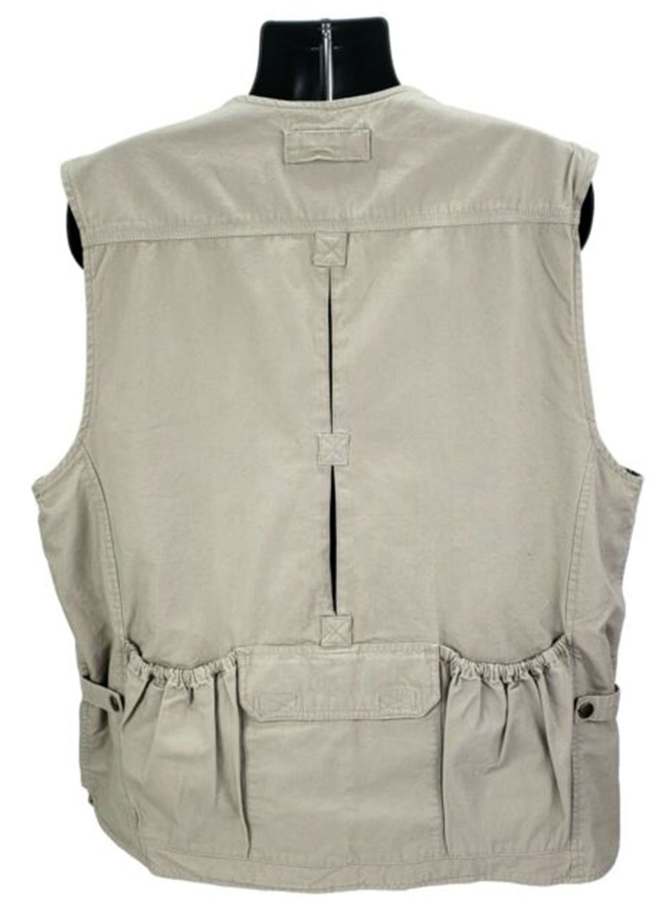 Men's Cotton Fabric Tactical Series Tan Vest