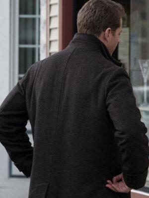 Manifest Ben Stone Black Wool Coat
