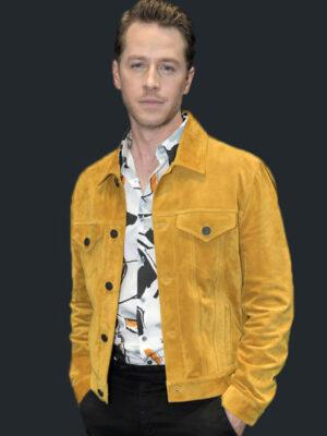Manifest Ben Stone Suede Leather Event Jacket